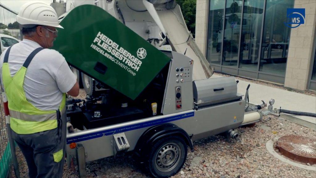 BMS betonski stroj s daljinskim upravljačem