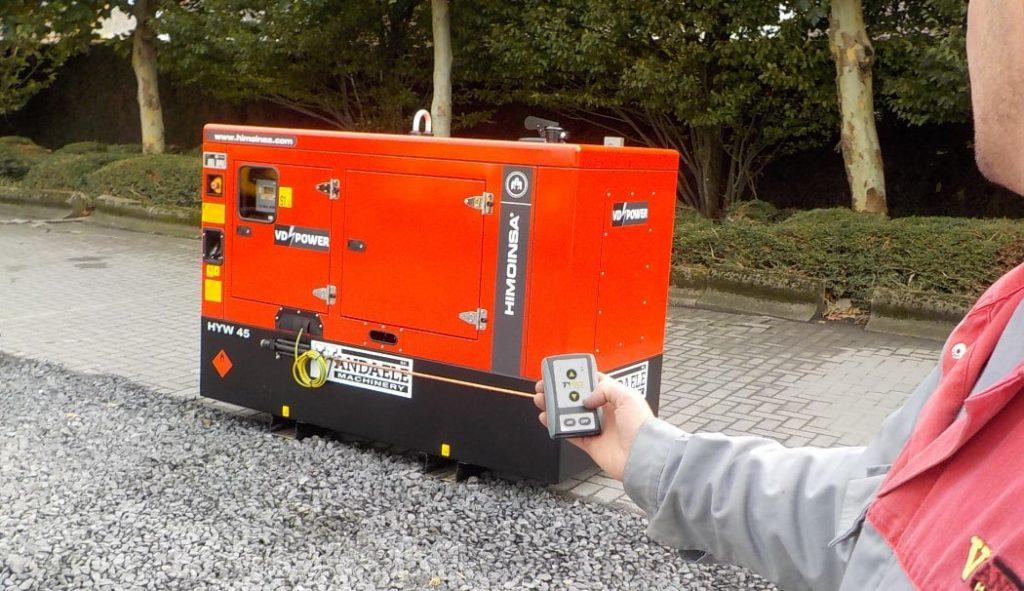 Daljinski upravljač s prijemnikom za generator struje
